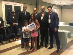 Marco Antônio Oliveira foi premiado com trabalho sobre